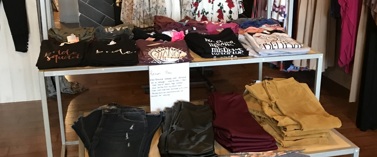 Getting Local with Grace: Daydream Boutique