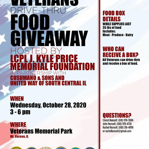 Veterans Drive-Thru Food Giveaway