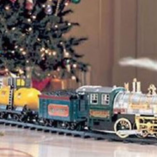 Christmas Model Train and Nativity Exhibits