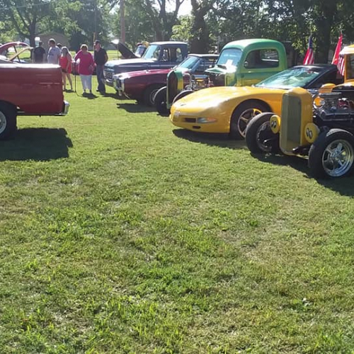 Bluford Ruritan Ice Cream Social and Antique Tractor & Car Show