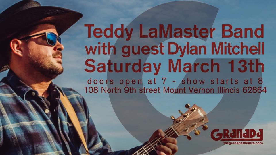 The Teddy LaMaster Band with guest Dylan Mitchell
